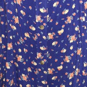 American Eagle Outfitters Dresses - American Eagle Blue floral dress